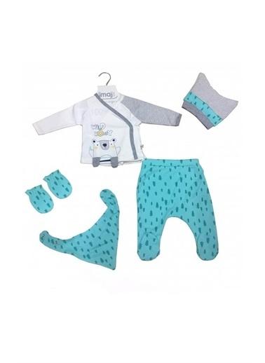 İmaj İmaj Wild Honey 5'li Hastane Çıkışı Erkek Bebek Giyim Renkli